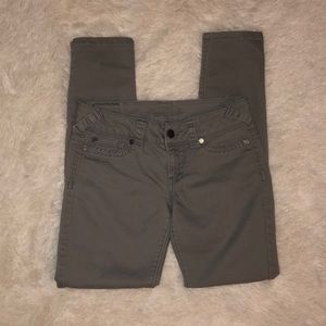 Maurices Grey Skinny Jeans